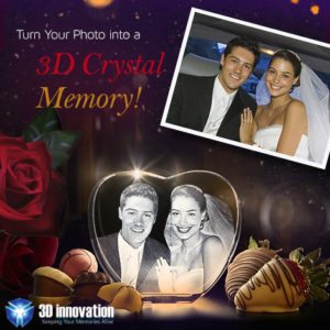 How We Convert Your Standard 2D Photo Into An Eye-Catching 3D Crystal